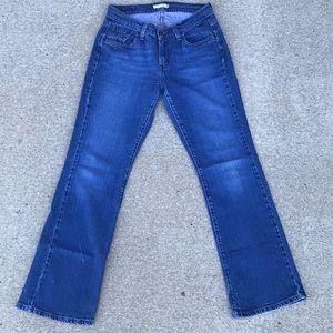 Levi's 529 Curvy Boot Cut Jeans - Size 10M